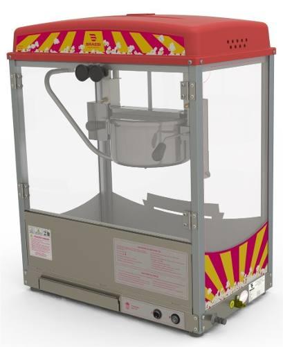 Maquina Pipoqueira Braesi Bmp 150 Inox Elétrica
