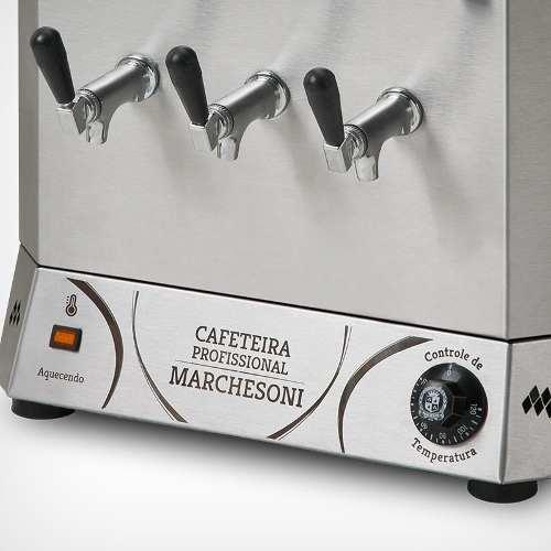 Cafeteira Profissional 20 Litros 2 Reservatórios Marchesoni