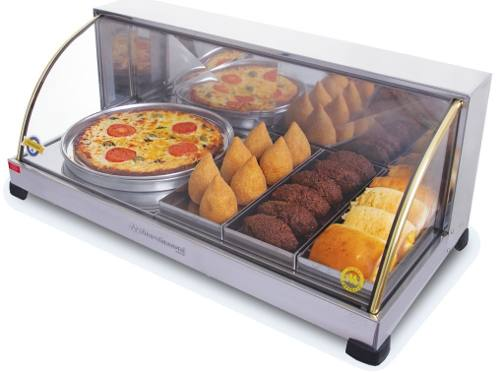 Estufa 1 Porta Pizza de 3 Bandejas Suprema Marchesoni
