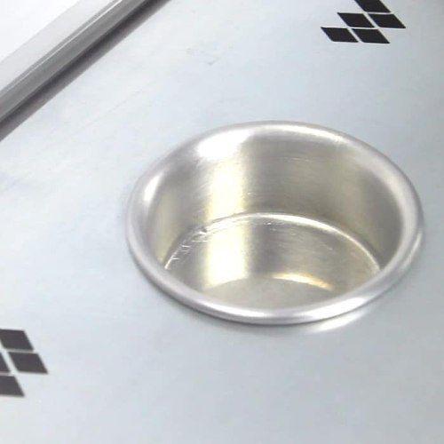 Estufa Prata de 5 Bandejas Grande Marchesoni Elétrica