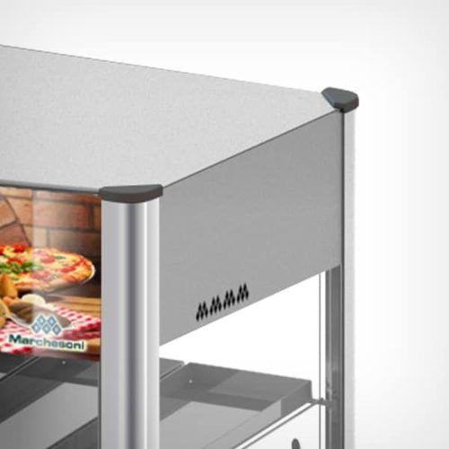 Estufa Vertical Premium de 12 Bandejas Tripla Marchesoni