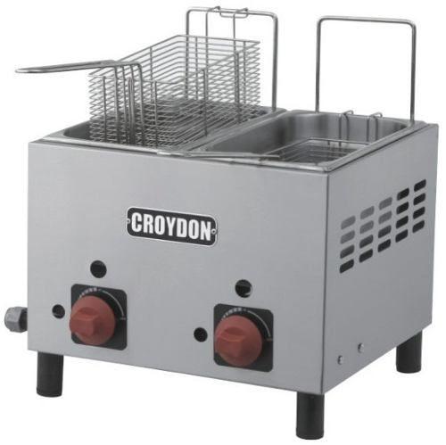 Fritador Croydon F2ag Gás 2x3 Litros