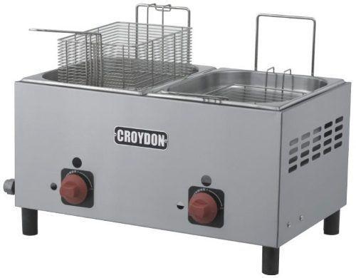 Fritador Croydon F2bg Gás 2x4,5 Litros