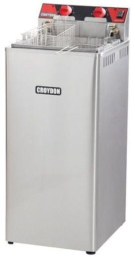 Fritador Água E Óleo Croydon Fa28 Elétrico 21 Litros