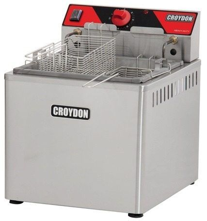 Fritador Água E Óleo Croydon Fam5 Elétrico 15 Litros
