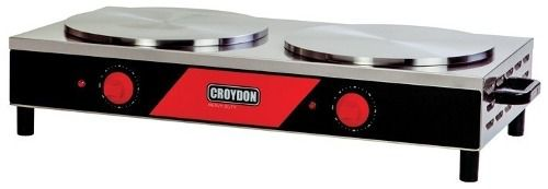 Panquequeira Dupla Croydon Mped Elétrica 2x37cm
