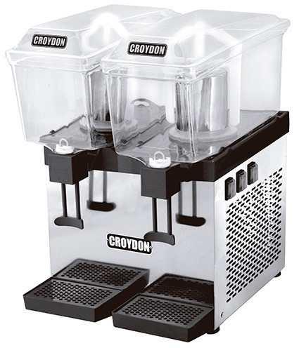 Refresqueira Dupla 30 Litros Slim Pá Croydon Rsdp 2x15L