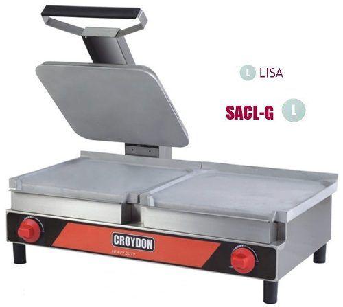 Sanduicheira Lisa Conjugada Croydon Saclg Gás 32x70cm