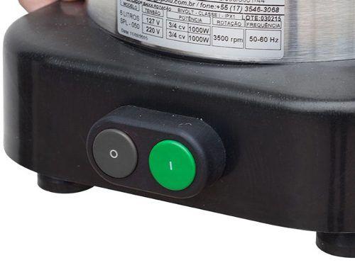 Liquidificador Comercial Linha X Sem Solda Baixa Rotacao 2 Lts  SPL 048 X Spolu