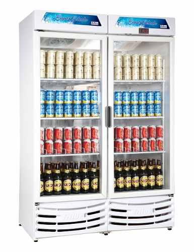 Cervejeira Vertical Porta Vidro 1200 Litros Frilux Rf018
