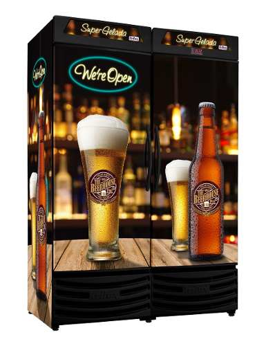 Cervejeira Vertical P. Cega Dupla 1200L Rf019 PUB Frilux