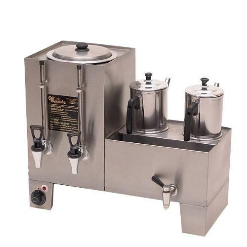 Cafeteira Conjugada de 5 Litros com 2 Bules Monarcha M52b Elétrica
