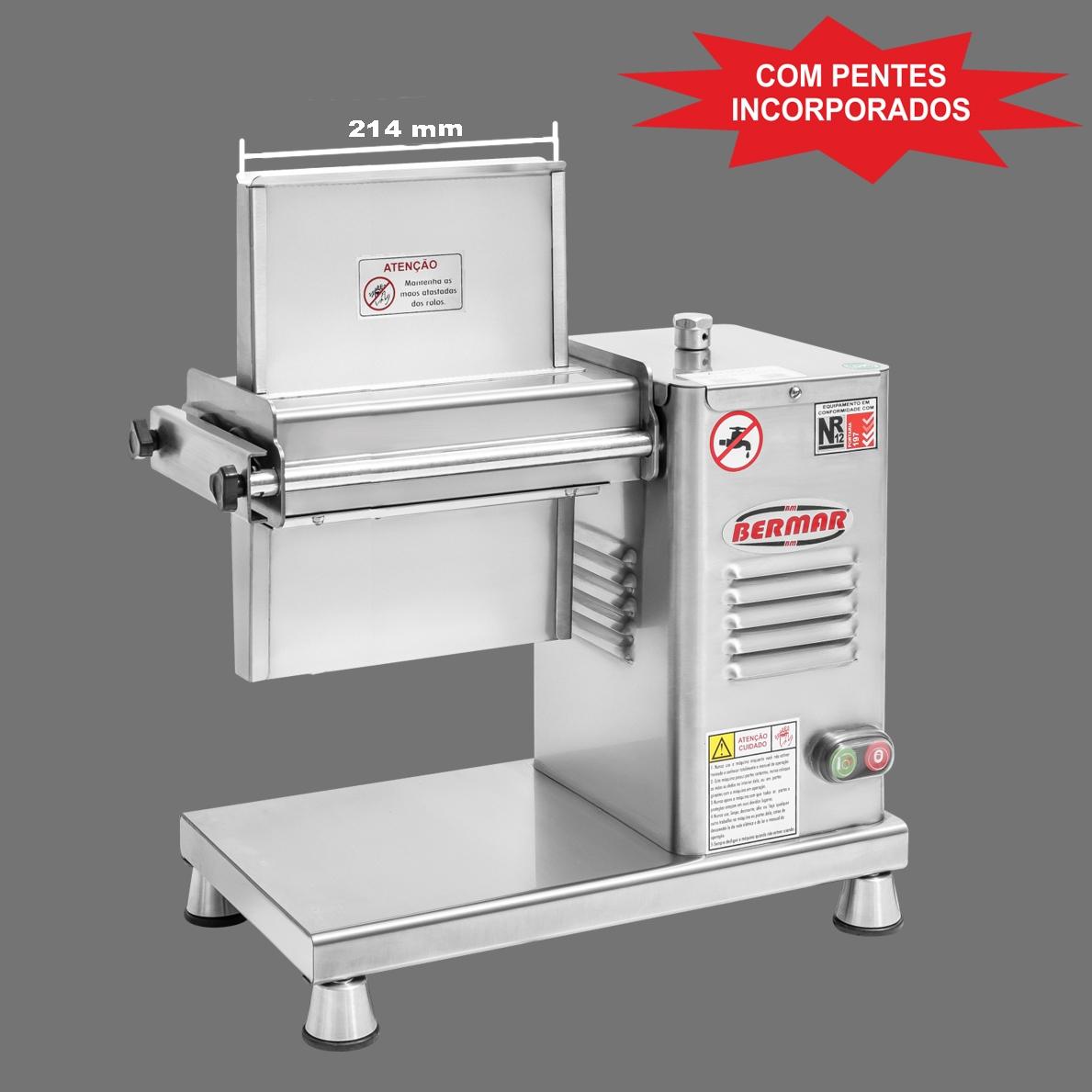 Amaciador Carnes Bermar Bm115NR PF BIV. Super Inox 400 Kg/h