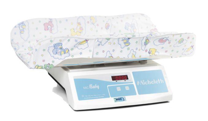 Balança Bebês Micheletti MIC BABY RS232 INOX 15Kgs