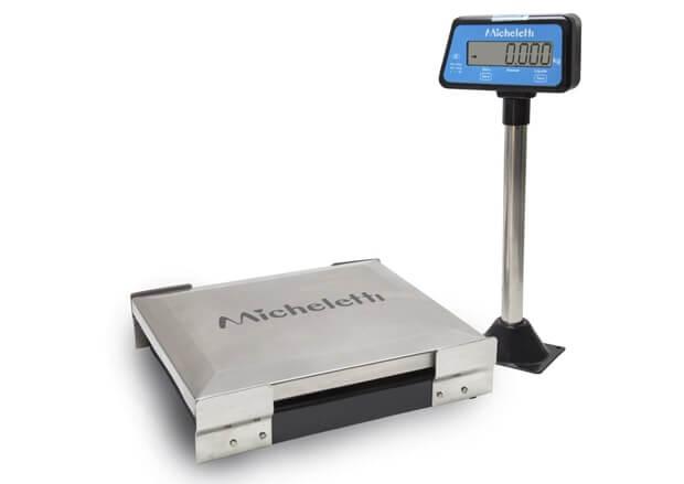 Balança Checkout de 30Kgs Micheletti Brisa USB Prato de 27x32cm