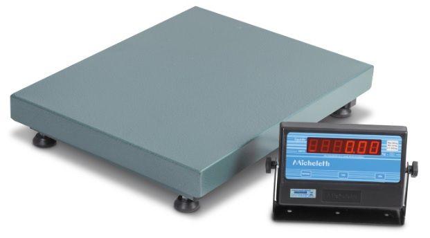 Balança Eletrônica Micheletti MIC300 60x80cm S/C 300Kg
