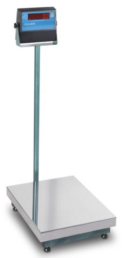 Balança Eletrônica Micheletti MIC300 Prato Inox 60x80 C/C 300Kg