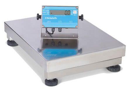 Balança Eletrônica Micheletti MIC300 Total Inox 50x60 S/C 300Kg