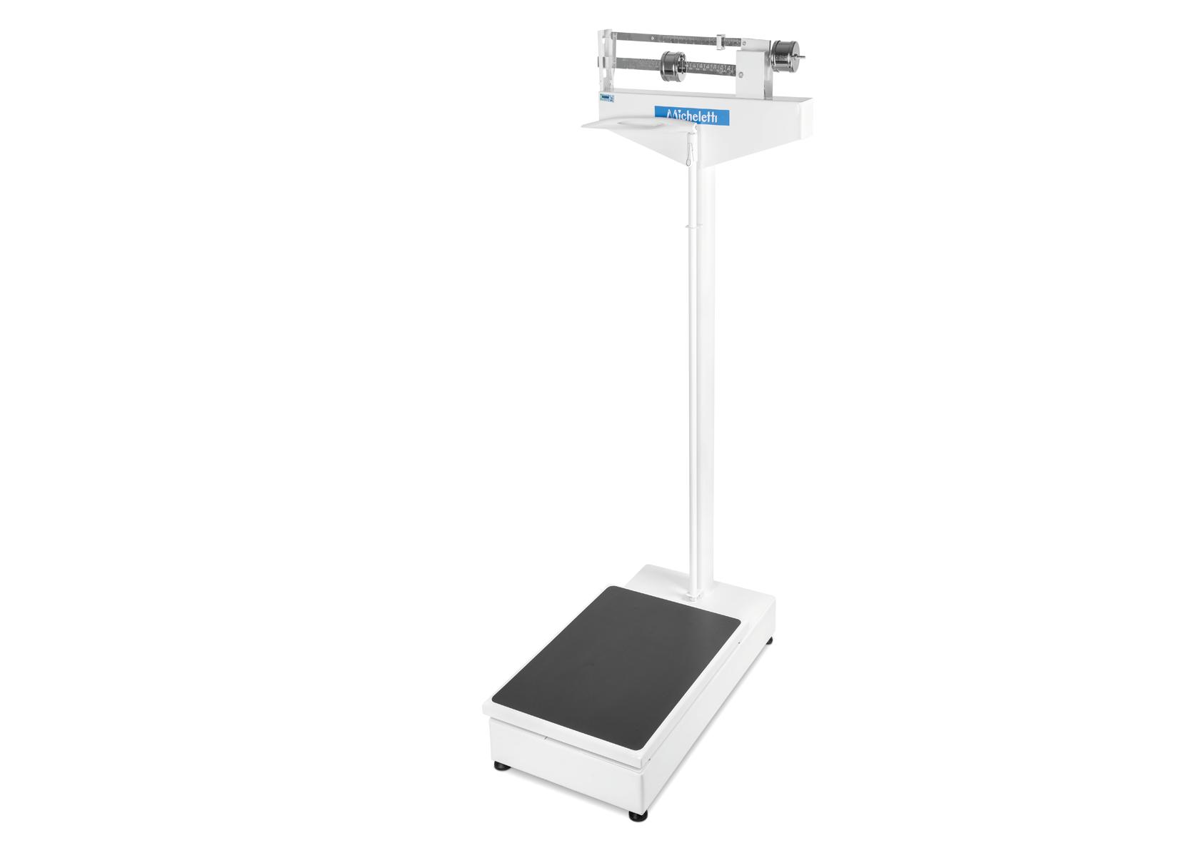 Balança Hospitalar Mecânica Micheletti MIC2BA 300Kgs 41x57cm