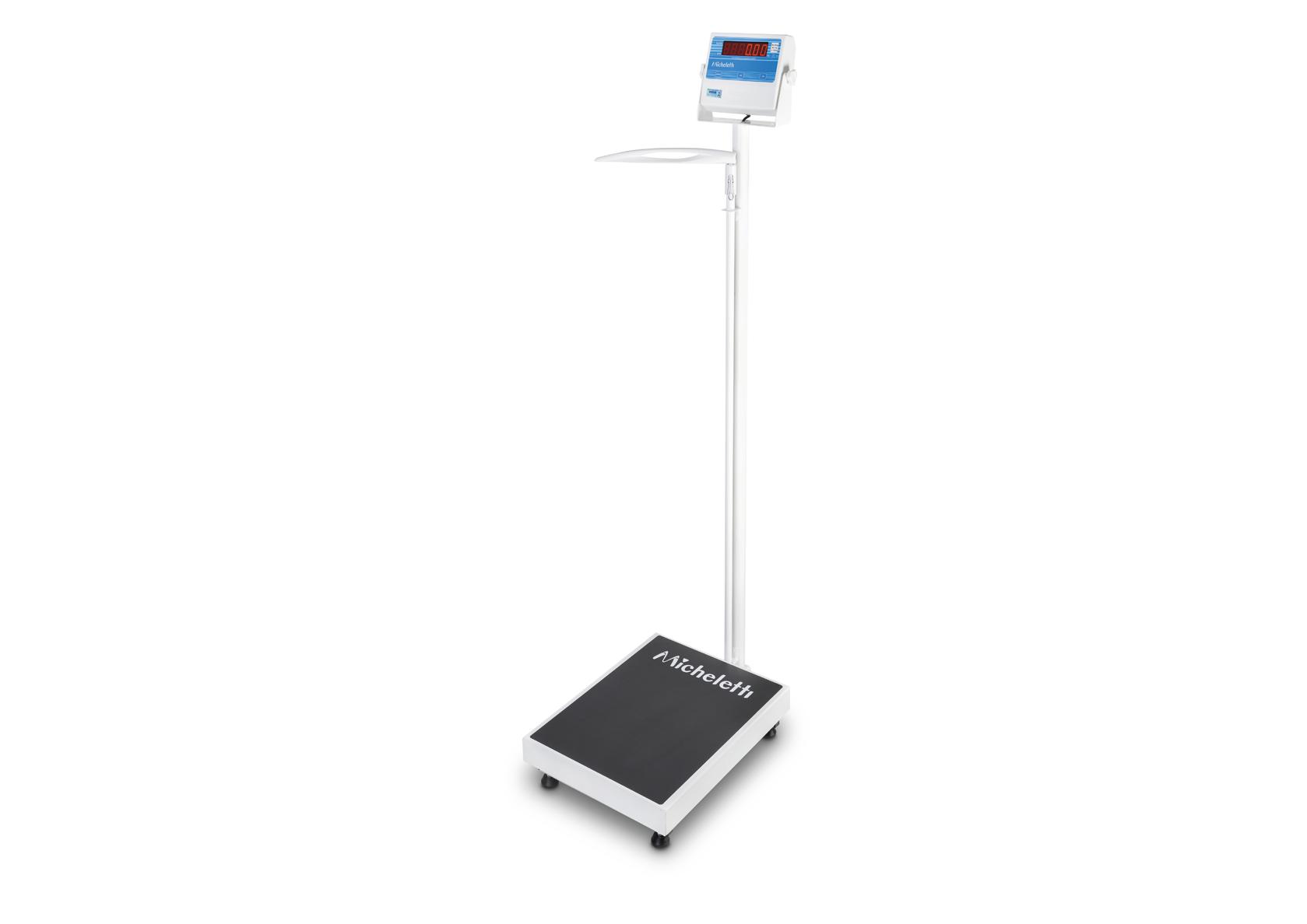 Balança Hospitalar Micheletti MICPPA 200Kgs de 40x50cm