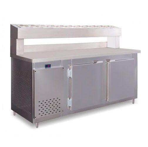 Balcão Serviço Porta Condimentos Rf041 1.9m Frilux 500 Litros