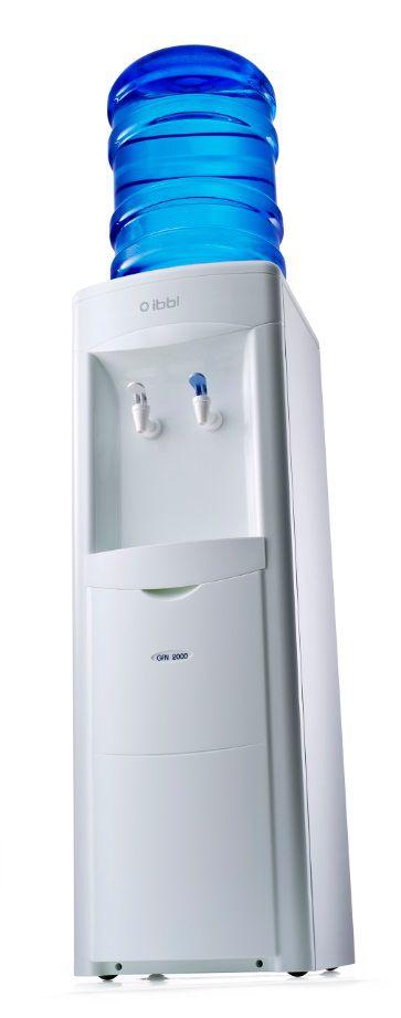 Bebedouro de Pedestal e Galão de Água GFN2 Branco IBBL