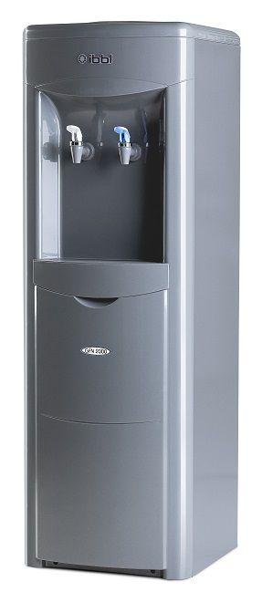 Bebedouro de Pedestal e Galão de Água GFN2 Cinza IBBL
