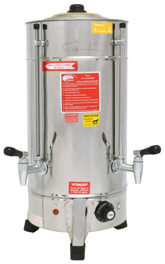 Cafeteira Consercaf C6 Elétrica Inox de 6 Litros