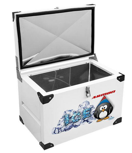 Caixa Térmica 70 Litros Armon TMI70 Inox Interno