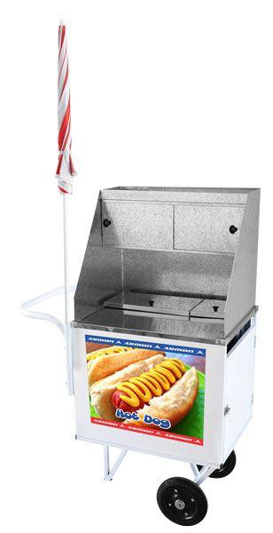 Carrinho De Hot Dog Standard Armon Dsm005 Estante