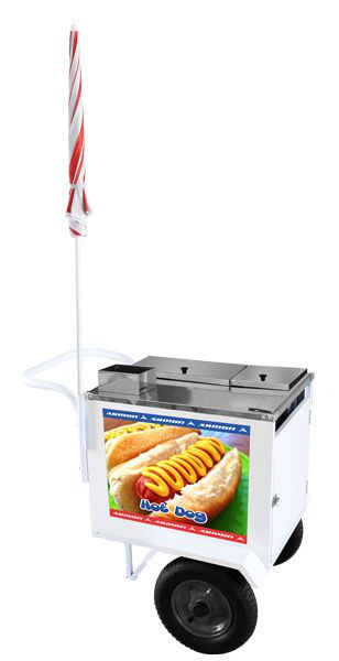 Carro de Hot Dog Básico Armon DSP006MY sem Estante