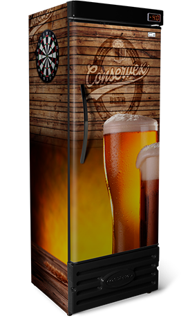 Cervejeira Vertical Cega Conservex CRV 600 Litros PUB