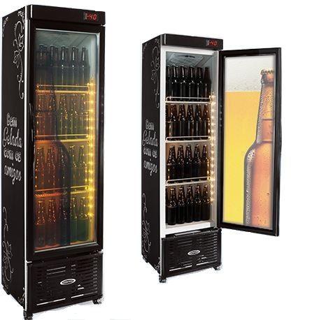 Cervejeira Vertical de Vidro Conservex CRV 250 Litros