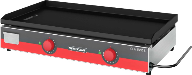 Chapa Bifeteira Elétrica Metalcubas CBE800L 80cm