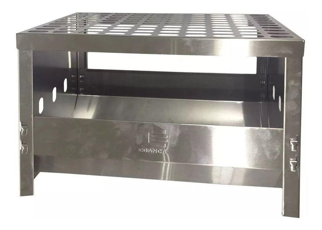 Churrasqueira Carvão Compacta Grill Desmontável
