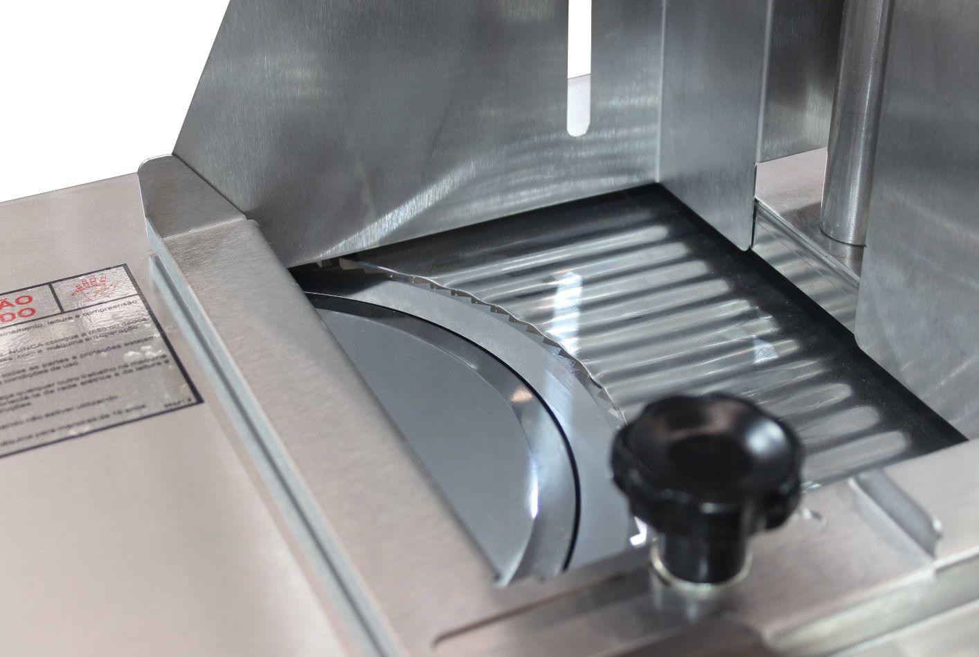 Cortador Fatiador Frios Automático Inox Skymsen Siemsen Ffa 260mm
