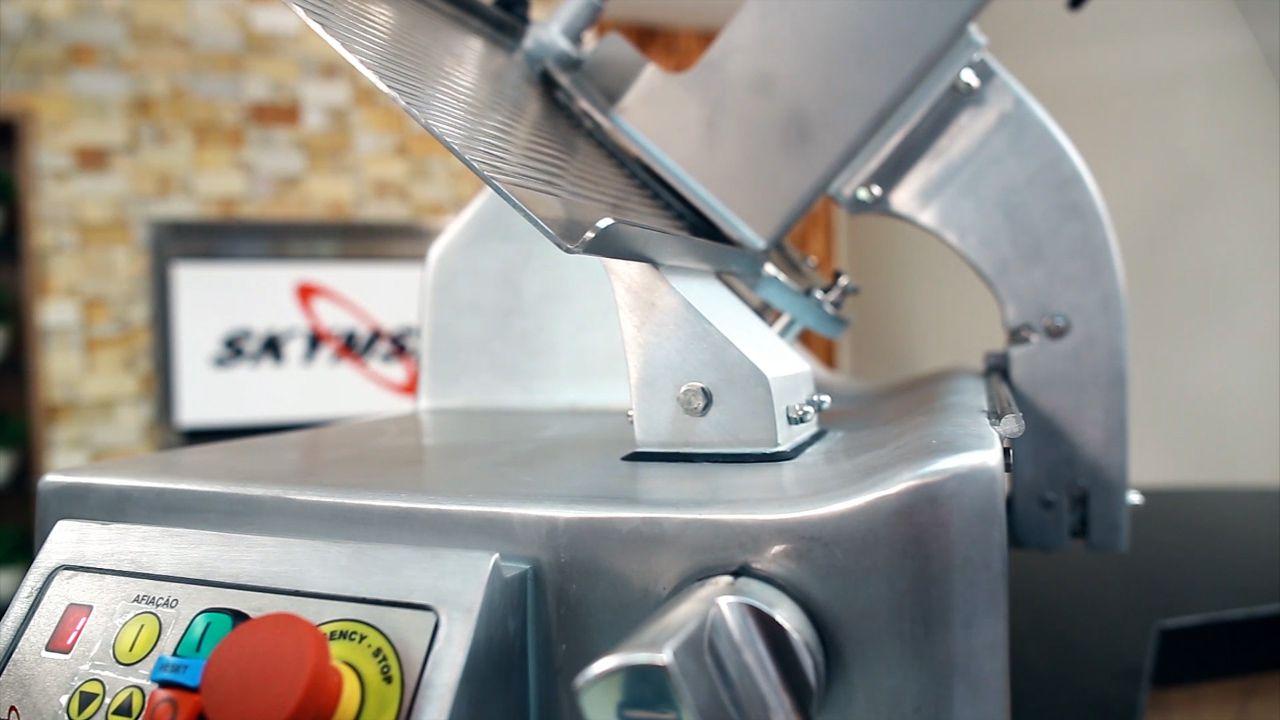 Cortador Fatiador Frios Automático Skymsen Siemsen CA300LHD 300mm