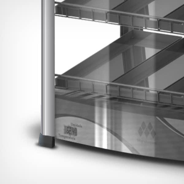 Estufa Vertical Premium Dupla de 6 Bandejas Marchesoni