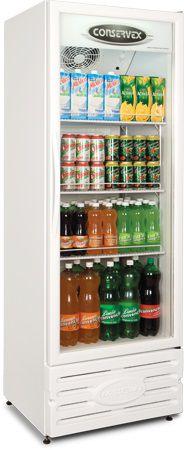 Expositor Refrigerado Conservex ERV 400 Litros Branco