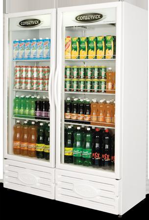 Expositor Refrigerado Conservex ERV 850 Litros Branco