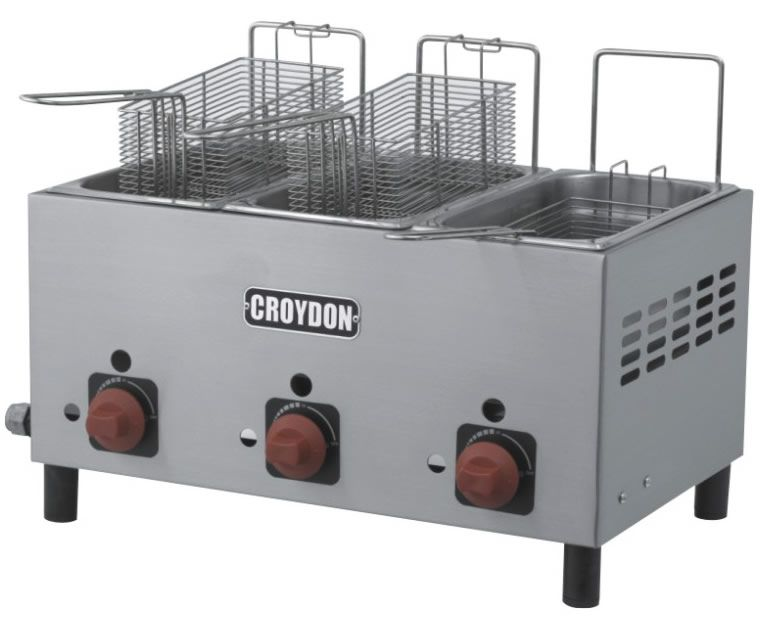 Fritador Croydon F3ag Gás 3x3 Litros