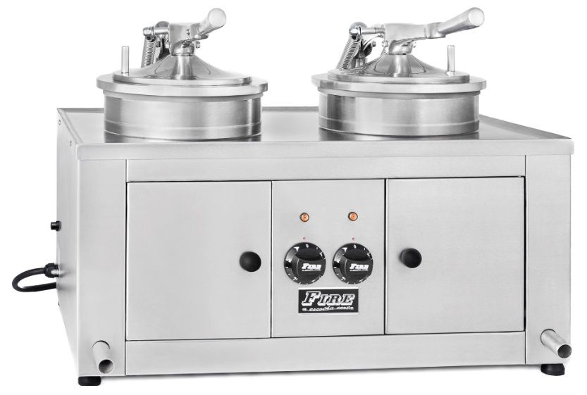 Fritador De Frango De Mesa Fire Ff2b de 2 bocas Elétrico