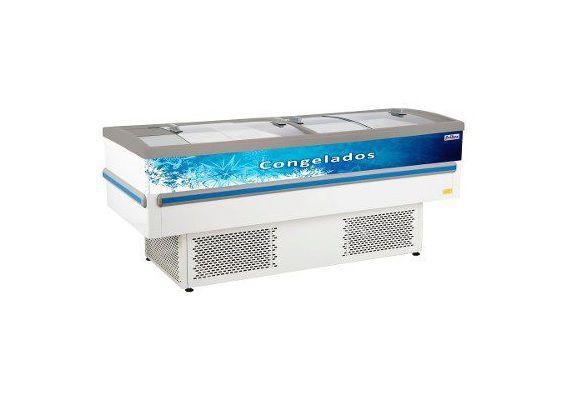 Ilha Para Congelados E Resfriados Frilux Rf030 Epoxi 490L