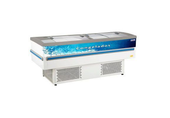 Ilha Para Congelados E Resfriados Frilux Rf032 Epoxi 750L