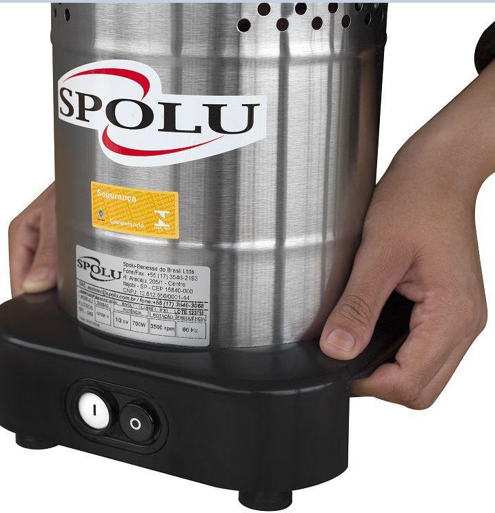 Liquidificador Comercial Linha W com Solda Baixa Rotacao 10 Lts SPL 052 W Spolu
