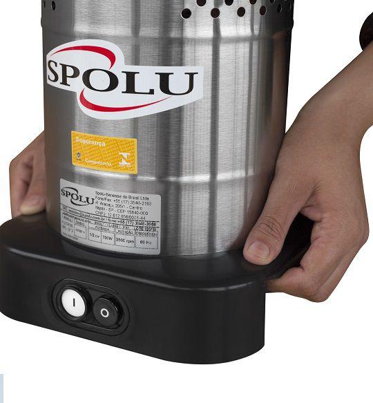 Liquidificador Comercial Linha X Sem Solda Baixa Rotacao 4 Lts SPL 049 X Spolu