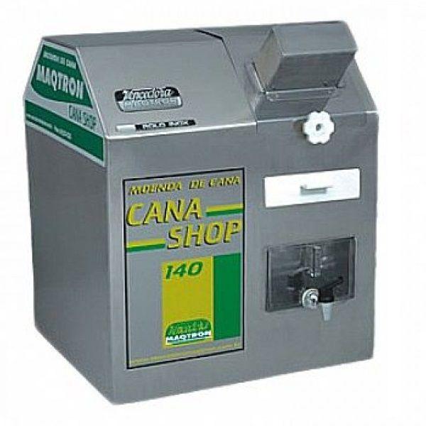 Moenda de Cana 3 Rolos de Inox Maqtron Shop140 Elétrica