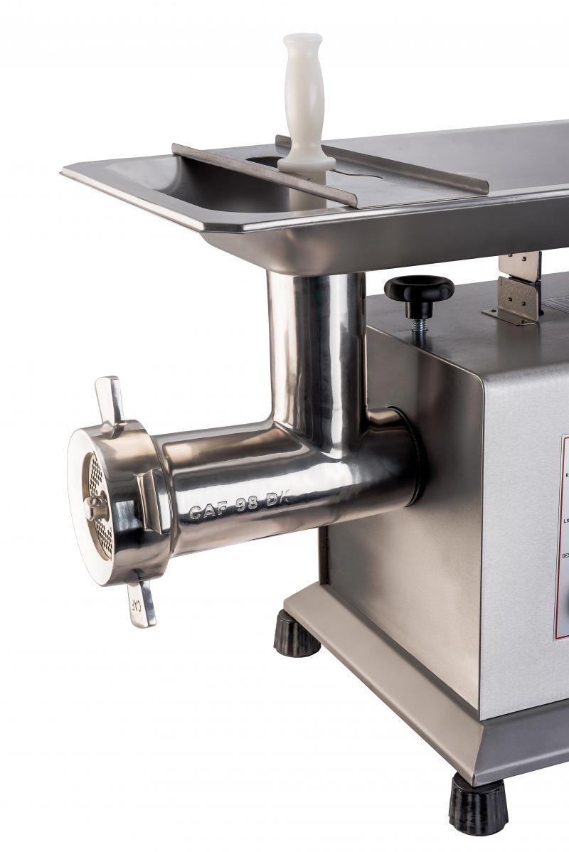 Picador De Carne Eletrônico Monofásico Caf Boca 98 DS Total Inox