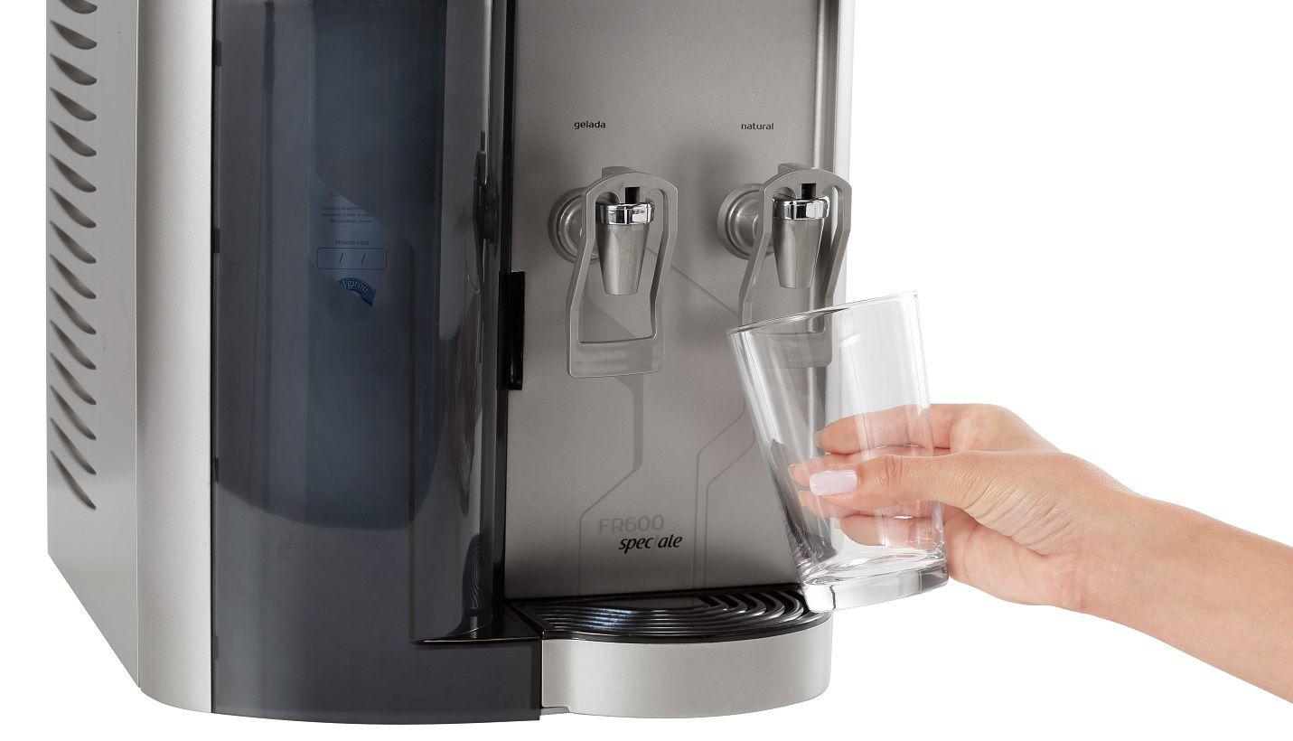 Purificador de Água de Mesa FR600 Speciale Prata IBBL
