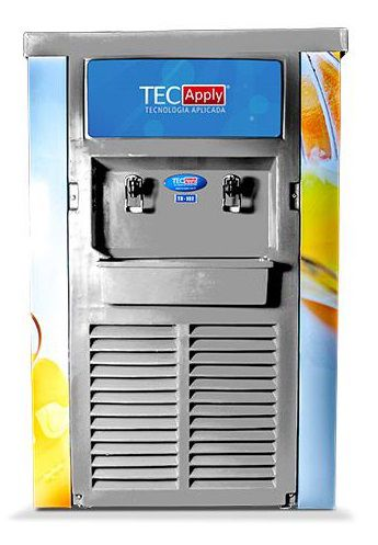 Refresqueira de 2 Sabores de 50 Litros Tecapply TR102 100 Litros
